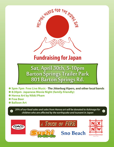 Fundraiser for Japan